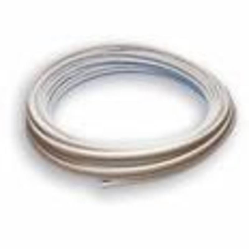 50M Coil of 15mm Barrier pipe (white)