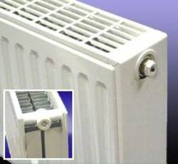 Double panel double convector radiator 700 high x 600 long, Output 1411w